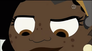 Koki concentraded eyes