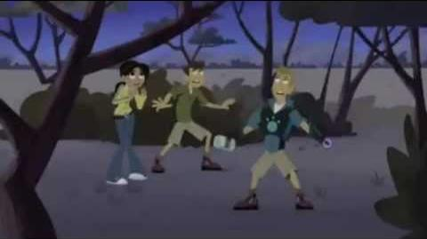 S2 Wild Kratts - Race for the Hippo Disc