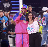 Nick Cannon and Queen Naija