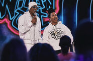 Nick Cannon and Rapsody