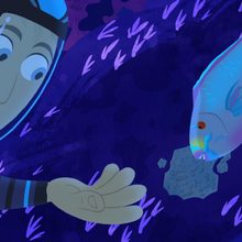 Martin and Parrot fish.png