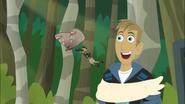 Chris riding Sloth Moth