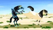 WP stallion kicking martin