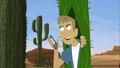 Martin in Cactus Costume