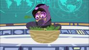Aviva Eating Salad