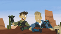 Wild Kratts- Martin cracking up in tears