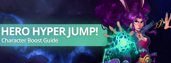 Hero Hyper Jump! Character boost guide