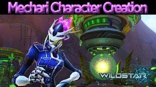 WildStar - Character Creation Mechari Male and Female