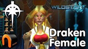 WildStar - Dominion - Draken Female, Character Creation