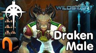 WildStar - Dominion - Draken Male, Character Creation
