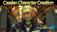 WildStar - Character Creation Cassian Male and Female
