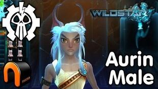 WildStar - Exile - Aurin Male, Character Creation