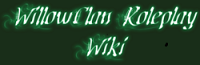 WillowClan Roleplay Wiki