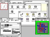 Windows 3.0 workspace