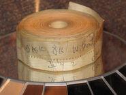 Altair 8K BASIC paper tape