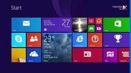 Desktop to Start Screen Same Background
