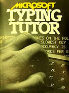 Microsoft Typing Tutor TRS-80 cassette