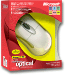 Microsoft IntelliMouse optical packaging