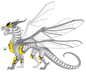 Hivewing Armour Wing Of Fire Roblox Wiki Fandom When i started this mod, it was only going to be an armor set for leliana. hivewing armour wing of fire roblox