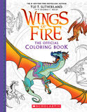 Official Wings of Fire Coloring Book