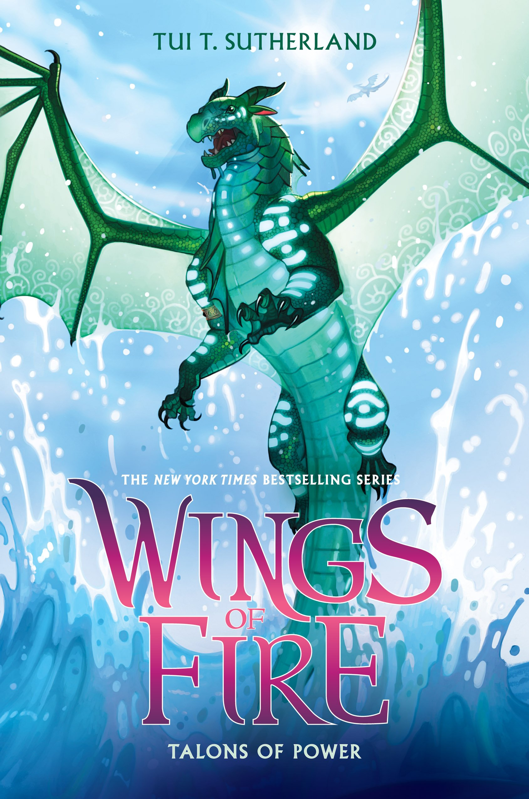 """Cover of """"Wings Of Fire: Talons Of Power"""" by Tui T. Sutherland."""