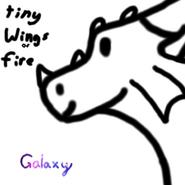 TWoF base rainwing (Galaxy the Spacewing)