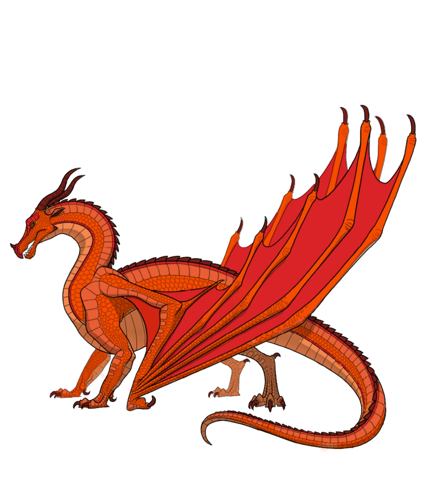 Inferno The Skywing Wings Of Fire Fanon Wiki Fandom