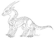 Deathwing doodle(treedragon)