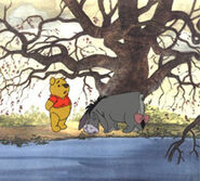 Winnie the Pooh with Eeyore