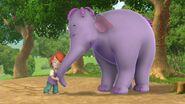 Darby Gives Mama Heffalump a Hug