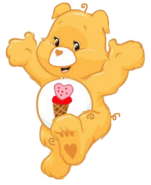 Care bears treat heart pig 2d by joshuat1306 dcwygfd-fullview