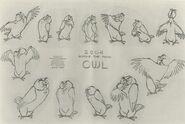 Owl Model Sheet