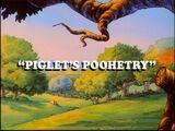 Piglet's Poohetry