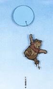 Pooh Bear Production Cel
