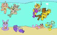 Care bears underwater fun by 101boy d2ff2fd-fullview