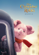 Christopher Robin Piglet Character Poster