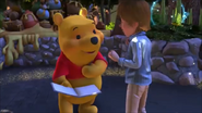 KDA - Winnie the Pooh likes to signed him name with the book