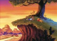 Disney-Men Christopher-Robin-and-Winnie-the-Pooh