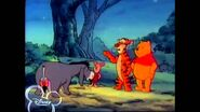 Winnie the Pooh and friends worried about the slusher