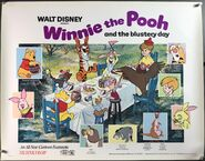 Winnie the Pooh And The Blustery Day Lobby Poster