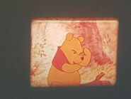 DISNEY WINNIE THE POOH & TIGGER TOO SUPER 8 COLOUR SOUND 200FT CINE FILM 8MM (4)