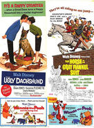Winnie the Pooh and the Honey Tree and Blustery Day Posters