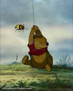 Pooh Bear Production Cel 2