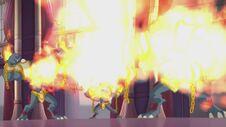 Tempesta di fiamme 4 in 606