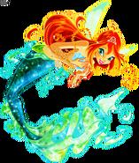 Bloom as mermaid