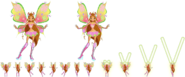 Magic of believix - sprites - winx Flora