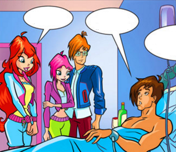 Kidnapped winx club fanfiction bloom Winx Club