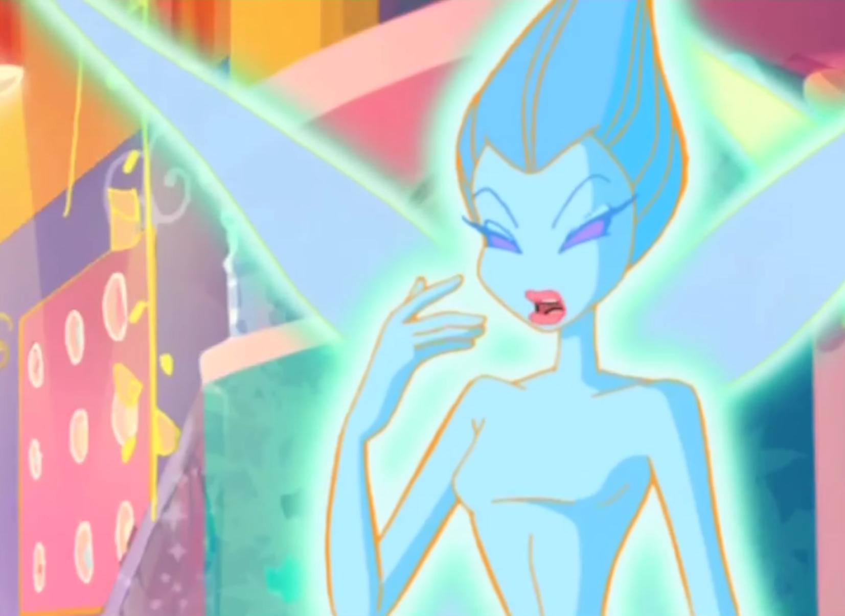 Blue Ethereal Fairy