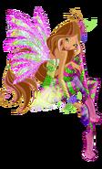 Winx Club Flora Sirenix pose5