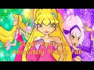 Winx Club~ Super Fantastic Absolutely Totally Fab (Lyrics)